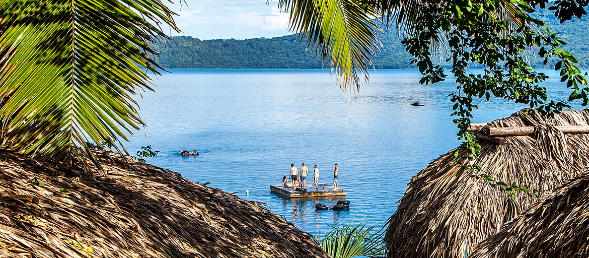 Laguna de Apoyo is an Ideal Place to Spend as a Family