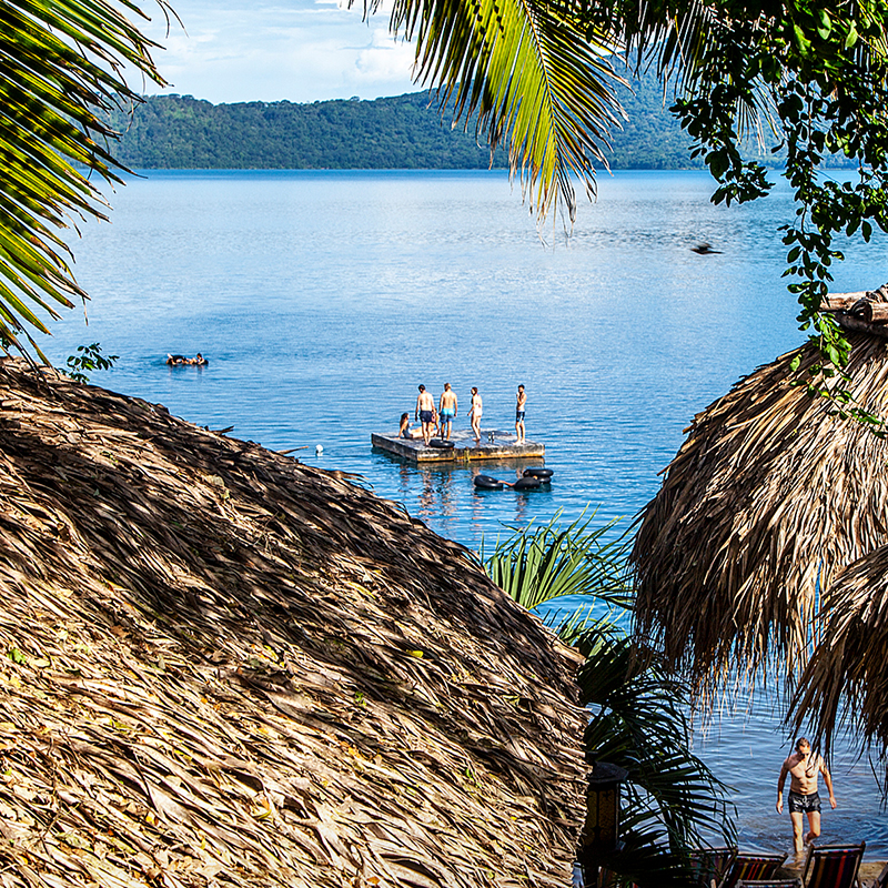 Laguna de Apoyo Nicaragua Paradiso Hostel Granada Masaya Day Pass