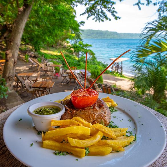 French food Paradiso Nicaragua Laguna de Apoyo Resort Lodge