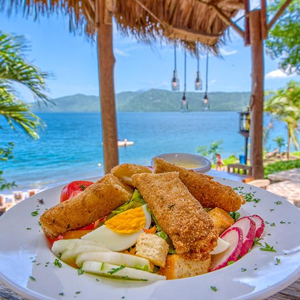 Salad Paradiso Nicaragua Laguna de Apoyo Resort Lodge