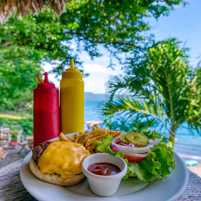 Menu Restaurante Bar Paradiso Laguna de Apoyo Nicaragua